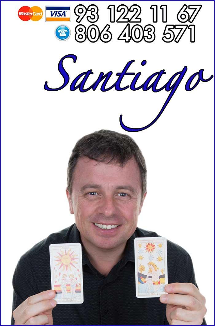 Santiago Sidebar tarot y chakras